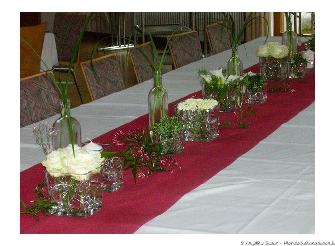 blumenschmuck f r familienfeier konfirmation geburtstage jubil um feste florale. Black Bedroom Furniture Sets. Home Design Ideas